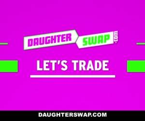 Arianna Aimes & Shae Celestine In The Daddy Swap Pt. 1 - DaughterSwap