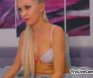 Model Flashing Twat At TryLiveCam.com