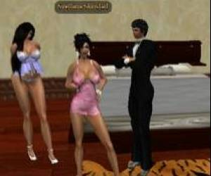 LAura And Sveltana At A Orgy