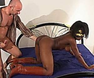 French Black Girl Anal