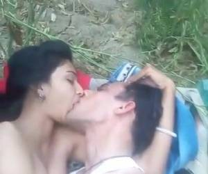 Arab Couple Outdoor Sex