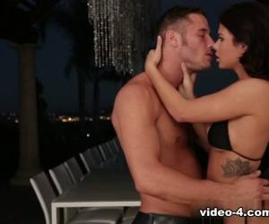 Keisha Grey & Danny Mountain In Summer Night Romance Video