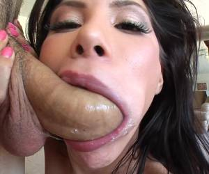 One Of The Things Alexa Nicole Like The Most Is Slurping On A Dick