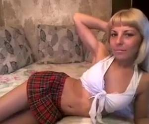 Blonde Schoolgirl Ass Fucked With A Big Cock