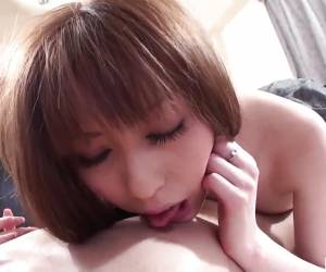 Asian Amateur Sucking Cock