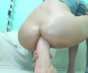 Extreme Anal Dildo Part Four