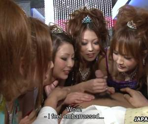 Japanese Chick Karin Asamiya Gets Nailed During Such A Steamy Orgy Party