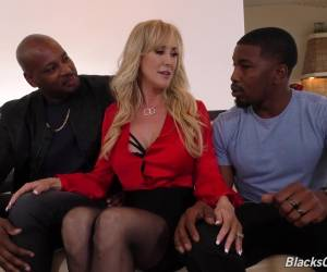 Nothing Is As Good For Brandi Love As Fucking With Two Black Guys At Once