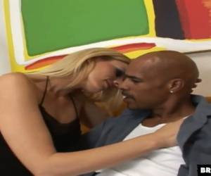 Fantastic Real Blonde Whore Darryl Hanah Is Happy To Ride Massive Black Cock
