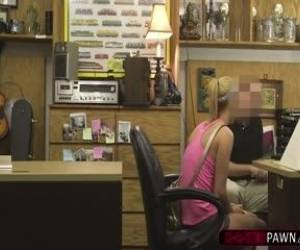Blonde Slut Sadie Leigh Kneels To Suck Shawns Dick