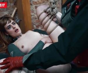 Obedient German Girls Feet Slaves Tortured In Hot BDSM