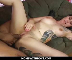 MILF Michelle Aston Loves Huge Cock