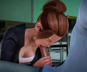 3D Horny Asian Teacher Fucked By Student
