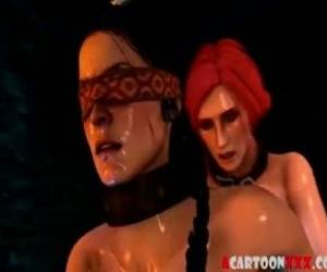 Witcher Futanari Having Raw Sex Session