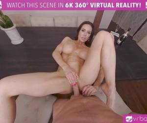 Brunette Kendra Lust Anniversary Gift Sex Session