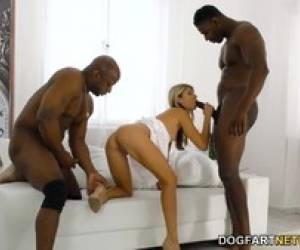 Anal Loving Gina Gerson Tries Interracial Sex And DP