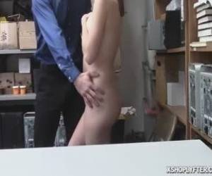 Mike Stick His Cock Inside Jaycees Pussy For Hard Fucking