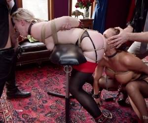 Mr. Pete  Phoenix Marie  Ella Nova In All Anal Slave Girls Training The Gape - TheUpperFloor