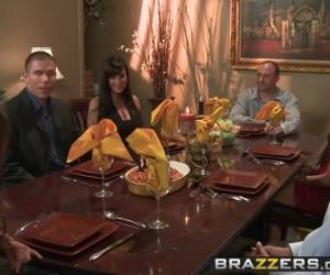 Lisa Ann Mick Blue - Winner Winner Sex During Dinner - Brazzers
