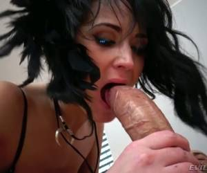 Big Fat Cock Tears Anus Of Lusty Used Whore Angie Moon Apart