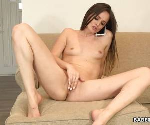 Gorgeous Tori Black Masturbates During A Phone Call
