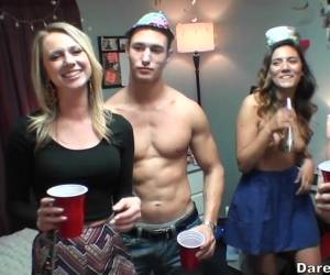 College Party Hardcore Orgy Started By A Cute Brunette Kaylee Banks