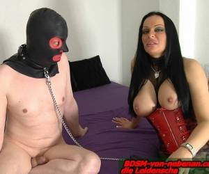 HUSBAND SLAVE - German Femdom Bdsm Fetish Wife Laught Him