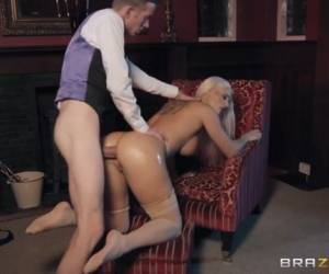Blanche Bradburry & Danny D In First Class Ass - BRAZZERS
