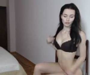 Teen Oksanafedorova Fingering Herself On Live Webcam Webcam Girl Oksanafedorova