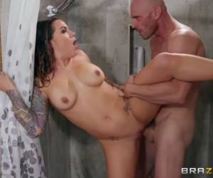 Karmen Karma & Johnny Sins In Banging Her Brother-In-Law - BRAZZERS