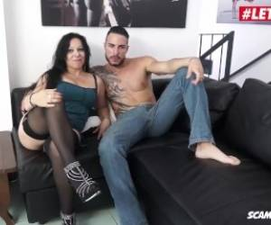 LETSDOEIT - Chubby Italian Milf Fucked Hard In Her First Porn Video