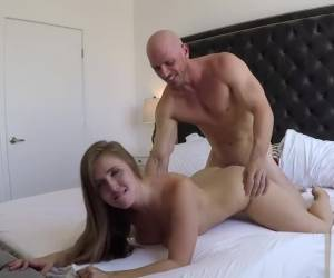 Lena Paul And Johnny Sins Passionate Sex W/ CreamPie