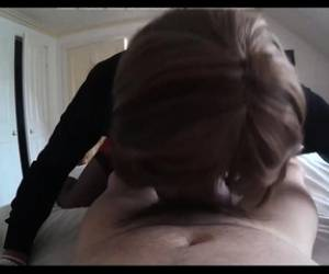 Facial Loving European Fucks And Sucks Hard Cock Pov