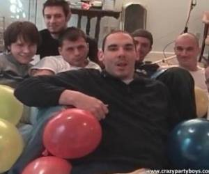 Birthday Party Turns Into Hot Gay Orgy