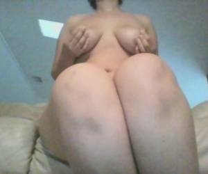 Young Chubby Teen Plays With Herself And Squirts On Couch