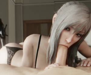 Aranea FFXV Sucks And Fucks In Lingerie