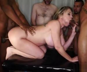 Dee Williams - Gangbang Creampie