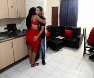 Fat Ass Ebony Takes It In The Pussy And Ass