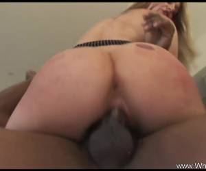 Interracial Fucking With Big Black Dick Horny Wifey
