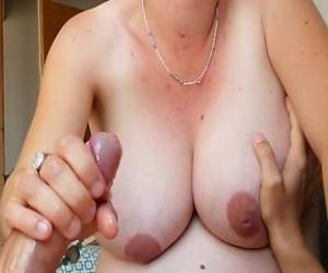 Handjob Cumshot Compilation Big Natural Tits Pregnant Big Load