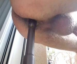 Homemade Dildo Very Close