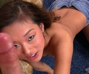 Asian Teen Blowjob