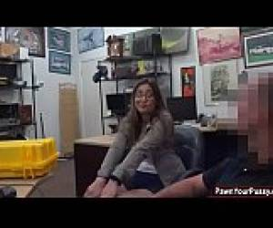 Hot French Babe Gets Fucked Fucked In The Pawnshop For A Plane Ticket