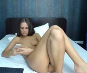 Teen Candeetease Fucking On Live Webcam Webcam Girl Candeetease