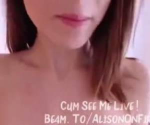 Beam.to Alisonfire Amateur Webcam Babe Masturbating On Twitch 21 2326 Webcam Girl Alisonfire