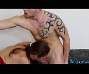 Bisex Dude Gets Facial