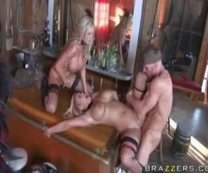 Nikki Benz & Shyla Stylez-The Good, The Bad And The Slutty