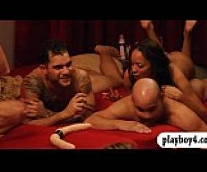 Swingers Swap Partners And Fucking In Playboy Mansion