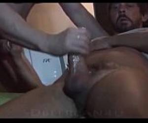 Giving Handjob To Very Big Cock..I&#039_m On Gforgay.com