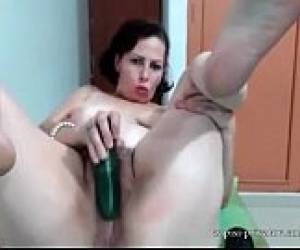 Hairy Milf Webcam Show